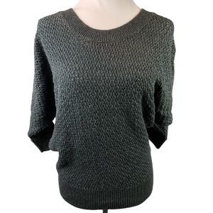 Express Mesh Dolman Knit Sweater Top Size Small